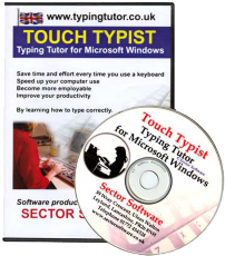 Learn to type with touch typist typing tutor